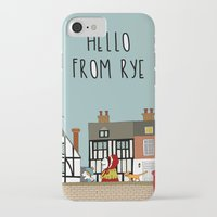 catcher in the rye iPhone & iPod Cases featuring Rye Street by Natallia Pavaliayeva