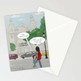 Los porqués de Joaquim - La vida es bella Stationery Cards