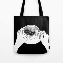 Morning please don't come Tote Bag