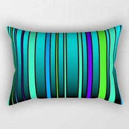 Fresh Blue Rectangular Pillow