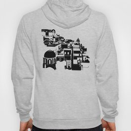 Fira Black and White Hoody