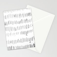Cussed in Lines Stationery Cards