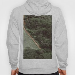 Tropical Amazon Rainforest Textured Trees Aerial Landscape Photo Hoody
