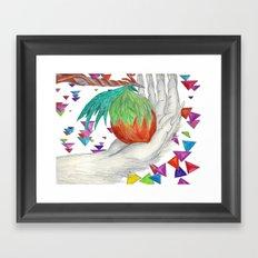 Alien Fruit Framed Art Print