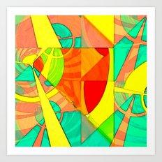 Tropical Farm 4 Art Print