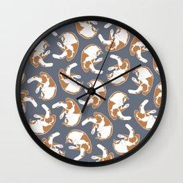 Sleepy tails Wall Clock