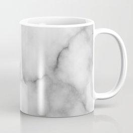 White Marble Pattern Coffee Mug