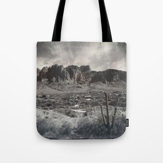 Superstition Mountain - Arizona Desert Tote Bag