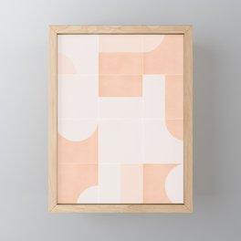 Retro Tiles 05 #society6 #pattern Framed Mini Art Print