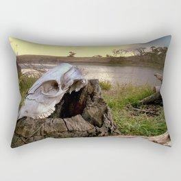 Trail Marker Rectangular Pillow