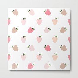 AFE Pastel Apples Metal Print