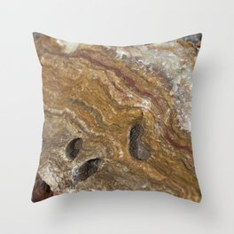 Life in Nature Throw Pillow