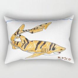Tiger Cat Shark Rectangular Pillow