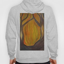 autumn - entrance to the forest Hoody