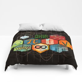 Math Game in black Comforters