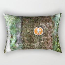 Florida Hike  Rectangular Pillow