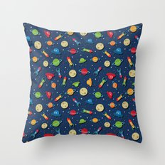 What a lot of rockets Throw Pillow