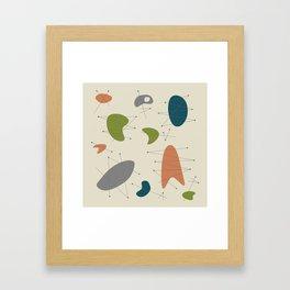 Pendan - Olive Framed Art Print