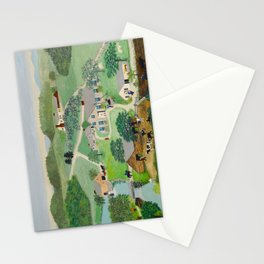 Anna Mary Robertson 'Grandma' Moses The Old Oaken Bucket American Folk Art Stationery Cards