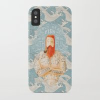 sailor iPhone & iPod Cases featuring Sailor by Seaside Spirit