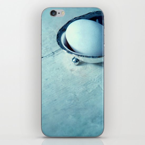 white egg iPhone & iPod Skin