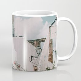 Southern Italy Flowers Town Travel Coffee Mug