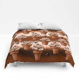 Ice cream dream Comforters