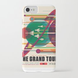 NASA Visions of the Future - The Grand Tour, a Once in a Lifetime Getaway iPhone Case