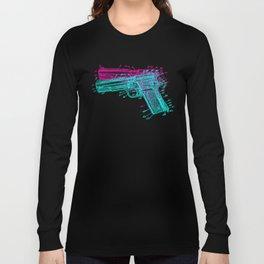 Gun Diagram Long Sleeve T-shirt