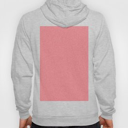 Dense Melange - White and Fire Engine Red Hoody