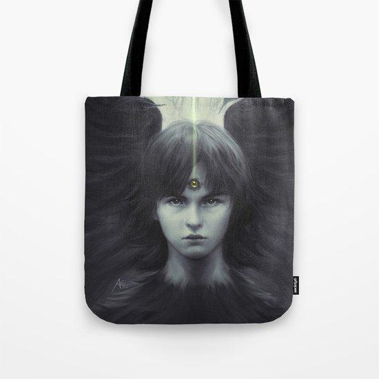 Eye of Raven Tote Bag