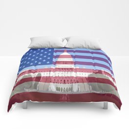United States Capitol Building Comforters