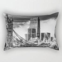 Tower Bridge And The City Rectangular Pillow