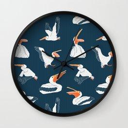 Feeding Frenzy Wall Clock