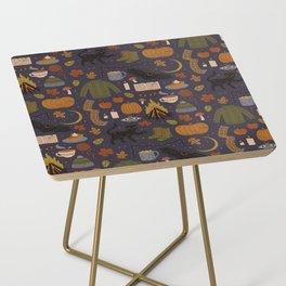 Autumn Nights Side Table