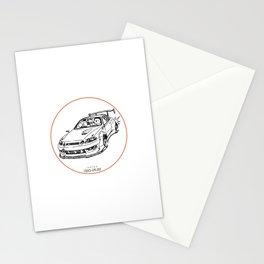 Crazy Car Art 0039 Stationery Cards