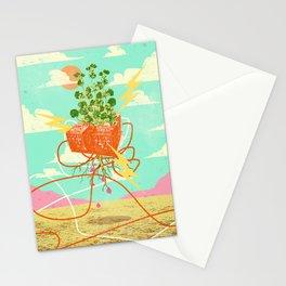 ORGANIC MECHANICS Stationery Cards