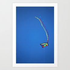 Summer Kite Art Print