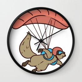 Skydiving Parachute Gift Sky Jump Wall Clock