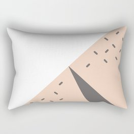 The Watermelon Abstract Rectangular Pillow