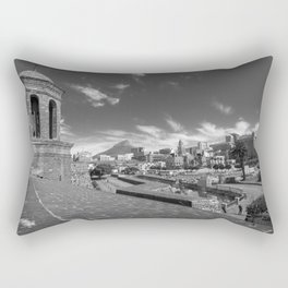 View of Cape Town from The Castle of Good Hope Rectangular Pillow