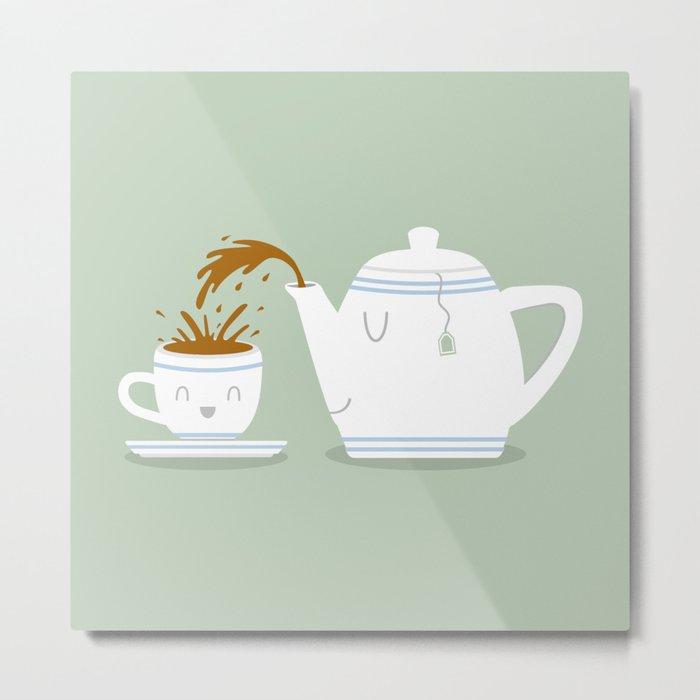 Tea Time! Metal Print