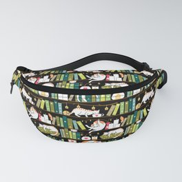 Library cats Fanny Pack