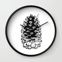 Giant pinecone Wall Clock