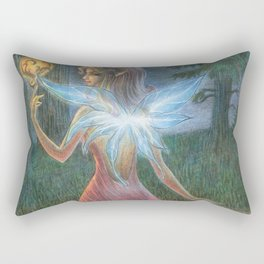 Against the Dark Rectangular Pillow