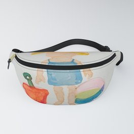 Toddies Summer Beach Holiday Baby Girl Fanny Pack