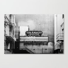 NOW PLAYING Canvas Print