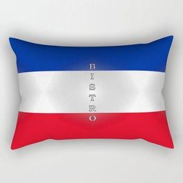 Tricolore Bistro Rectangular Pillow