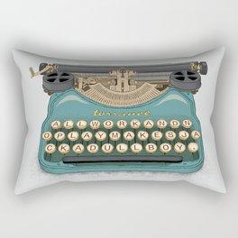 Writer's Block Rectangular Pillow