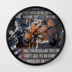 facebook golden rule Wall Clock